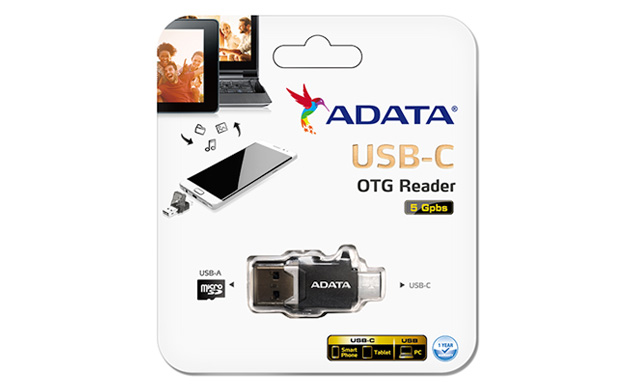 USB-C OTG READER
