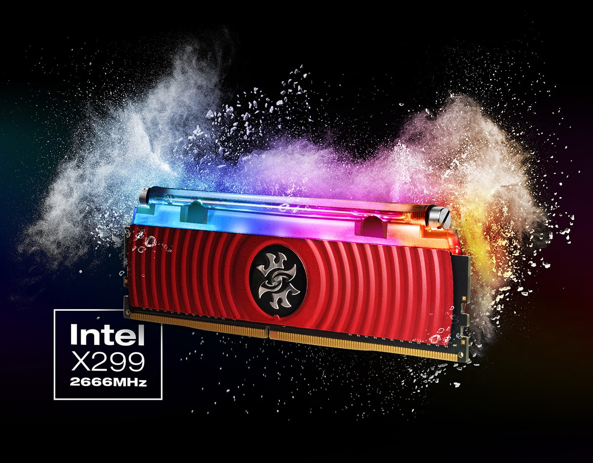 SPECTRIX D80 DDR4 RGB Liquid Cooling Memory | Description | ADATA