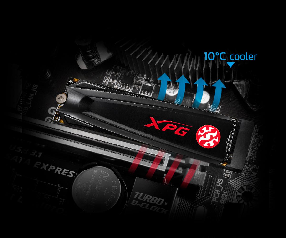 Adata XPG Gammix S5 256GB M.2 NVMe 1