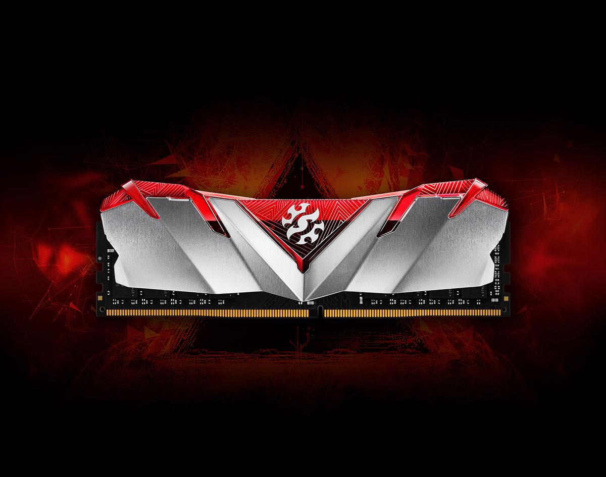 DDR4 08GB 3200MHZ (KIT OF 1) ADATA CL16 XPG GAMMIX D30 BLACK 1 optimark