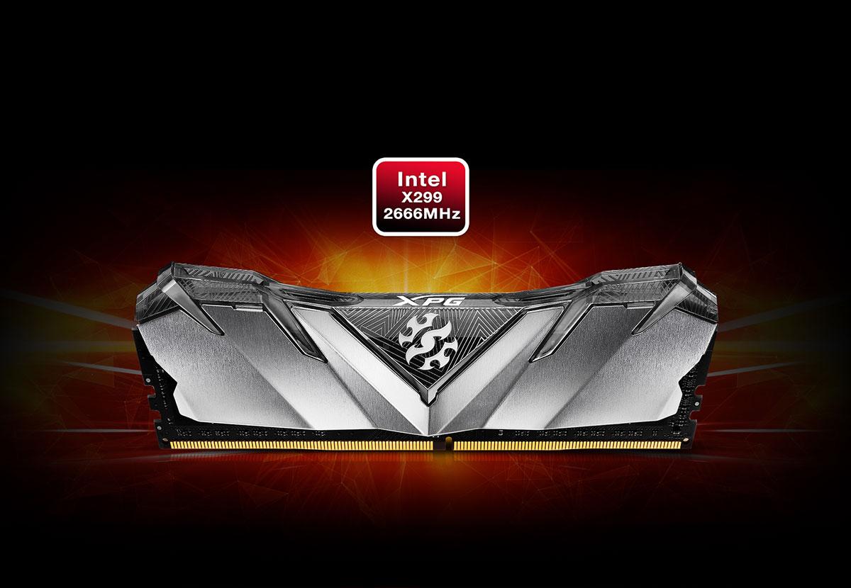 DDR4 08GB 3200MHZ (KIT OF 1) ADATA CL16 XPG GAMMIX D30 BLACK 3 optimark
