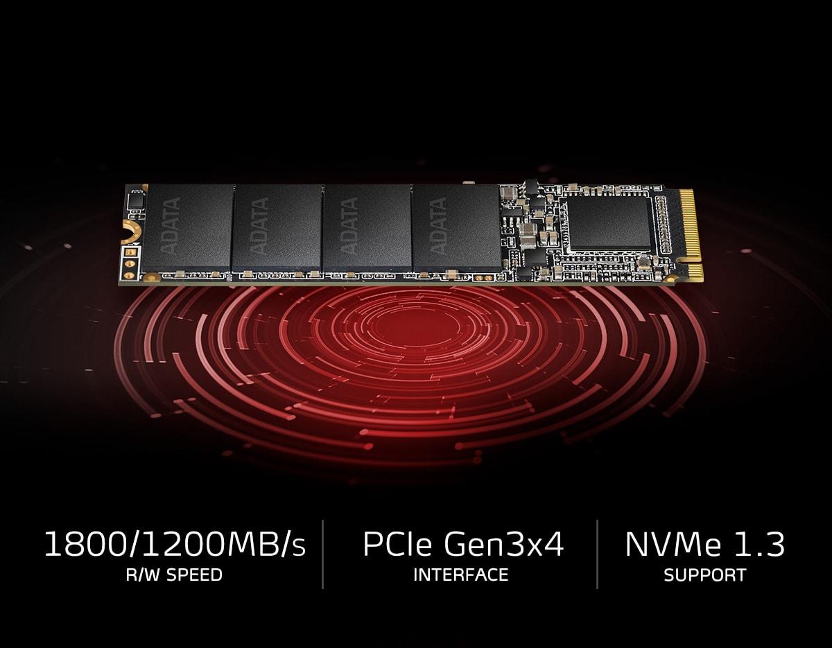 XPG SX6000 Lite PCIe Gen3x4 M.2 2280 Solid State Drive ...